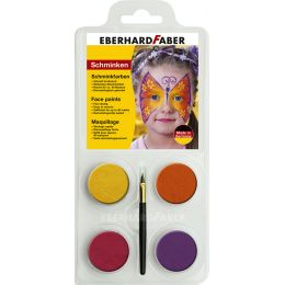 EBERHARD FABER Schminkfarben-Set Schmetterling, 4 Farben