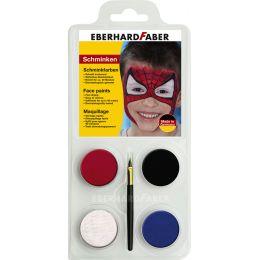 EBERHARD FABER Schminkfarben-Set Spiderman, 4 Farben