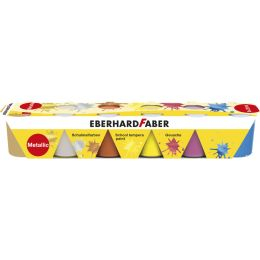 EBERHARD FABER Schulmalfarbe-Set EFA Color Metallic, 6er Set