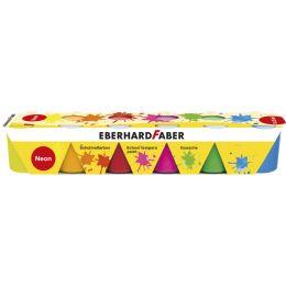 EBERHARD FABER Schulmalfarbe-Set EFA Color Neon, 6er Set