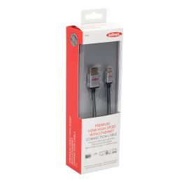 ednet Anschlusskabel High Speed, Micro HDMI-D - HDMI-A, 2,0m