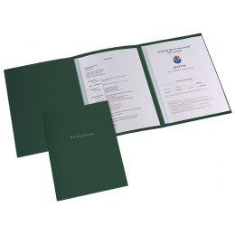 ELBA 3-teilige Bewerbungsmappe, excellent plus, dunkelgrün