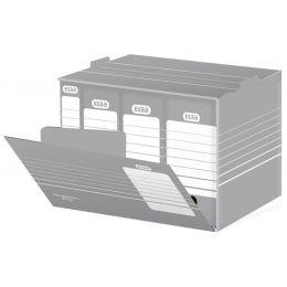 ELBA Archiv-Container tric, für A4 und A3, grau/weiß