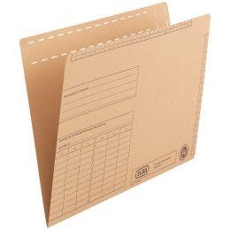 ELBA Einstellmappe, mit Organisationsdruck, Natronkarton