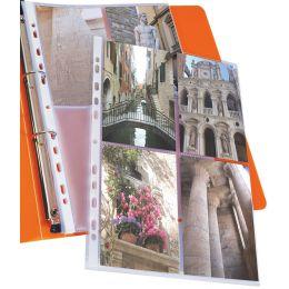 ELBA Fotohüllen für 8 Fotos 100 x 150 mm, Format: DIN A4