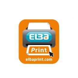 ELBA Ordner smart Original*, Rückenbreite: 80 mm, blau