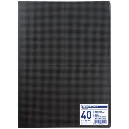 ELBA Sichtbuch Memphis DIN A3, mit 40 Hüllen, schwarz