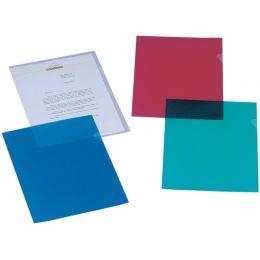 ELBA Sichthülle Standard, DIN A4, PP, 0,12 mm, rot