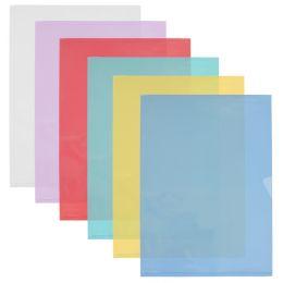 ELBA Sichthüllen DIN A4 FardLiss, PVC 0,18 mm, gelb