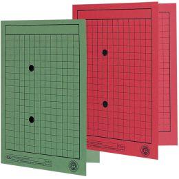 ELBA Verteiler- und Umlaufmappe, DIN A4, Manilakarton, rot