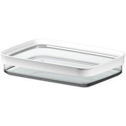 emsa Aufschnittbox OPTIMA, 0,7 Liter, transparent / weiß