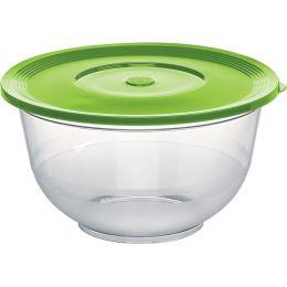 emsa Salatschale SUPERLINE, mit Deckel, 3,5 Liter, grün