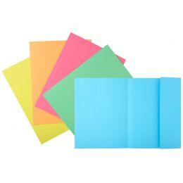 EXACOMPTA Aktendeckel SUPER 250, DIN A4, farbig sortiert