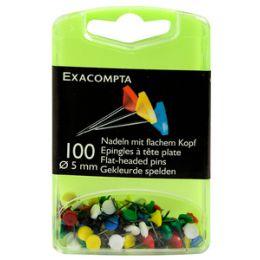EXACOMPTA Pinnwand-Nadeln, farbig sortiert