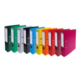 EXACOMPTA PVC-Ordner Premium, DIN A4, 70 mm, zitrusgrün