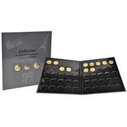 EXACOMPTA Sammelalbum für 50 Souvenir-Medaillen, grau