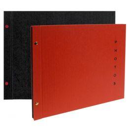 EXACOMPTA Schraubalbum Design, 370 x 290 mm, schwarz