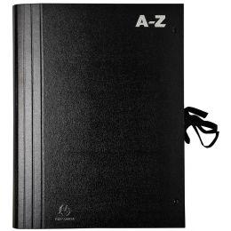 EXACOMPTA Vorordner 1-31, für DIN A4, schwarz