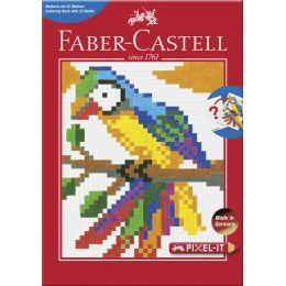 FABER-CASTELL Ausmalbuch Pixel-it mit 32 Motiven