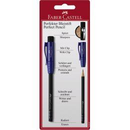 FABER-CASTELL Perfekter Bleistift II, Blister