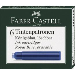 FABER-CASTELL Tintenpatronen Standard, königsblau