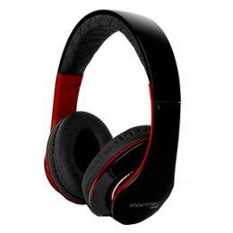 fantec Kopfhörer On-Ear SHP-3, schwarz/rot