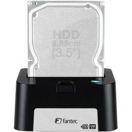 fantec USB 3.0 Festplatten Docking Station MR-U3e, schwarz