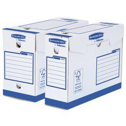 Fellowes BANKERS BOX Basic Archiv-Schachtel Heavy Duty