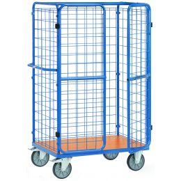 fetra Paketwagen mit Türen, Ladefläche: (B)1.000 x (T)700 mm