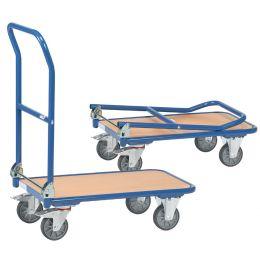 fetra Plattformwagen KW 1, Holzplattform, Tragkraft: 250 kg