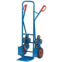 fetra Stahlrohr-Treppenkarre TK1327, 2 fünfarmige Radsterne