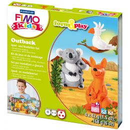 FIMO kids Modellier-Set Form & Play Outback, Level 3