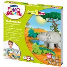 FIMO kids Modellier-Set Form & Play Waterhole, Level 3