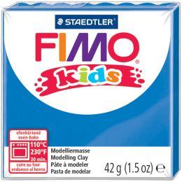 FIMO kids Modelliermasse, ofenhärtend, blau, 42 g