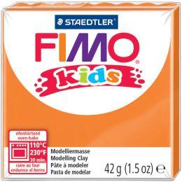 FIMO kids Modelliermasse, ofenhärtend, orange, 42 g