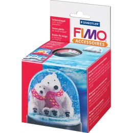 FIMO Schneekugel, rund, Durchmesser: 90 mm, Höhe: 75 mm