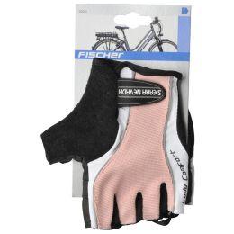 FISCHER Fahrrad-Handschuhe Lady, Größe: L/XL, rosa/schwarz