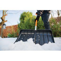 FISKARS SnowXpert Kunststoff-Schneeräumer, Länge: 1.560 mm