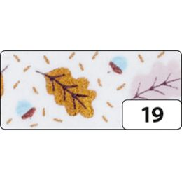 folia Deko-Klebeband Washi-Tape Hotfoil Kupfer Blätter