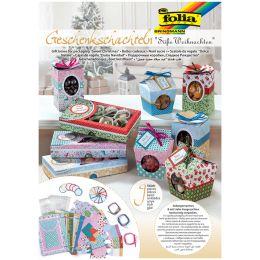 folia Geschenk-Schachteln Süßes Verpacken, Weihnachten