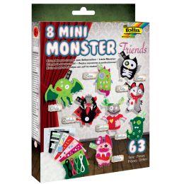 folia Häkelset Mini Monster Friends