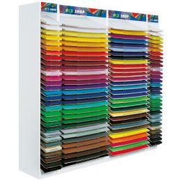 folia Holzaufsteller PaperShop für Bogen-Format 500 x 700 mm