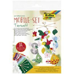 folia Mobile-Set Tierwelt, 14-teilig