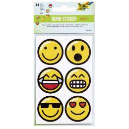 folia Rundsticker Emojis