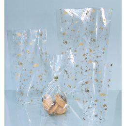 folia Weihnachts-Zellglasbeutel, Maße: (B)115 x (H)190 mm