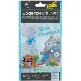 folia Zellglasbeutel-Set WINTER WONDERLAND, 145 x 235 mm