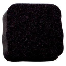 FRANKEN Löscher für Schreibtafeln, magnethaftend, schwarz