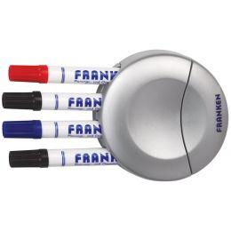 FRANKEN Markerhalter für 4 Marker, inkl. Tafelwischer