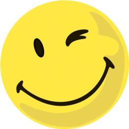 FRANKEN Moderationskarte, Wertungssymbol: Positiv, gelb