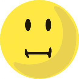 FRANKEN Moderationskarte, Wertungssymbol: Neutral, gelb